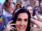 Fátima Bernardes é surpreendida e vira máscara de carnaval. Confira!