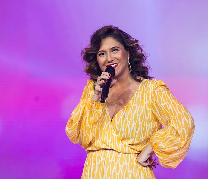 Maria Rita regravou a canção 'Dengosa' para Êta Mundo Bom (Foto: Cynthia Salles/ TV Globo)