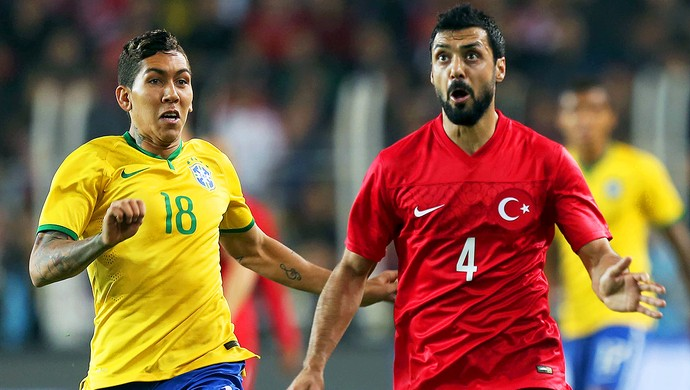 Turquia x Brasil - Roberto Firmino (Foto: Mowa Press)