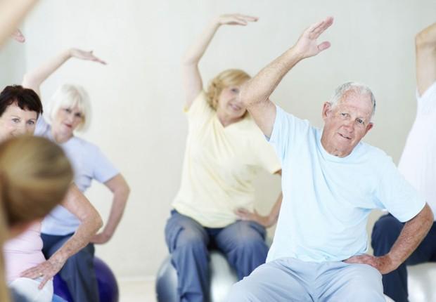 Envelhecimento ; atividade física ; exercício ; idoso ; como manter saúde na velhice ; terceira idade ; como se manter saudável (Foto: Braun S/Getty Images)