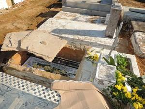 Coveiro suspeito de fazer sexo com cadáver é liberado em Parnaíba (Foto: Gleitowney Miranda/Blog do Pessoa)