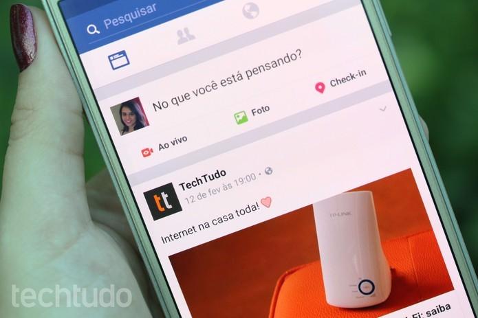 veja como desativar o som automático nos vídeos do Facebook no Android (Foto: Aline Batista/TechTudo)