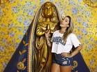 Dani Bolina, madrinha de bateria, admite: 'Não sou boa de samba'