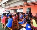 Lyoto participa de bate-papo com crianças atendidas por projeto social