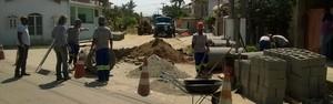 Saneamento e pavimentação no bairro Parque Mataruna (Camilo Mota / Ascom)