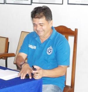 Batista Filho presidente Parnahyba (Foto: Blog do Jonys)