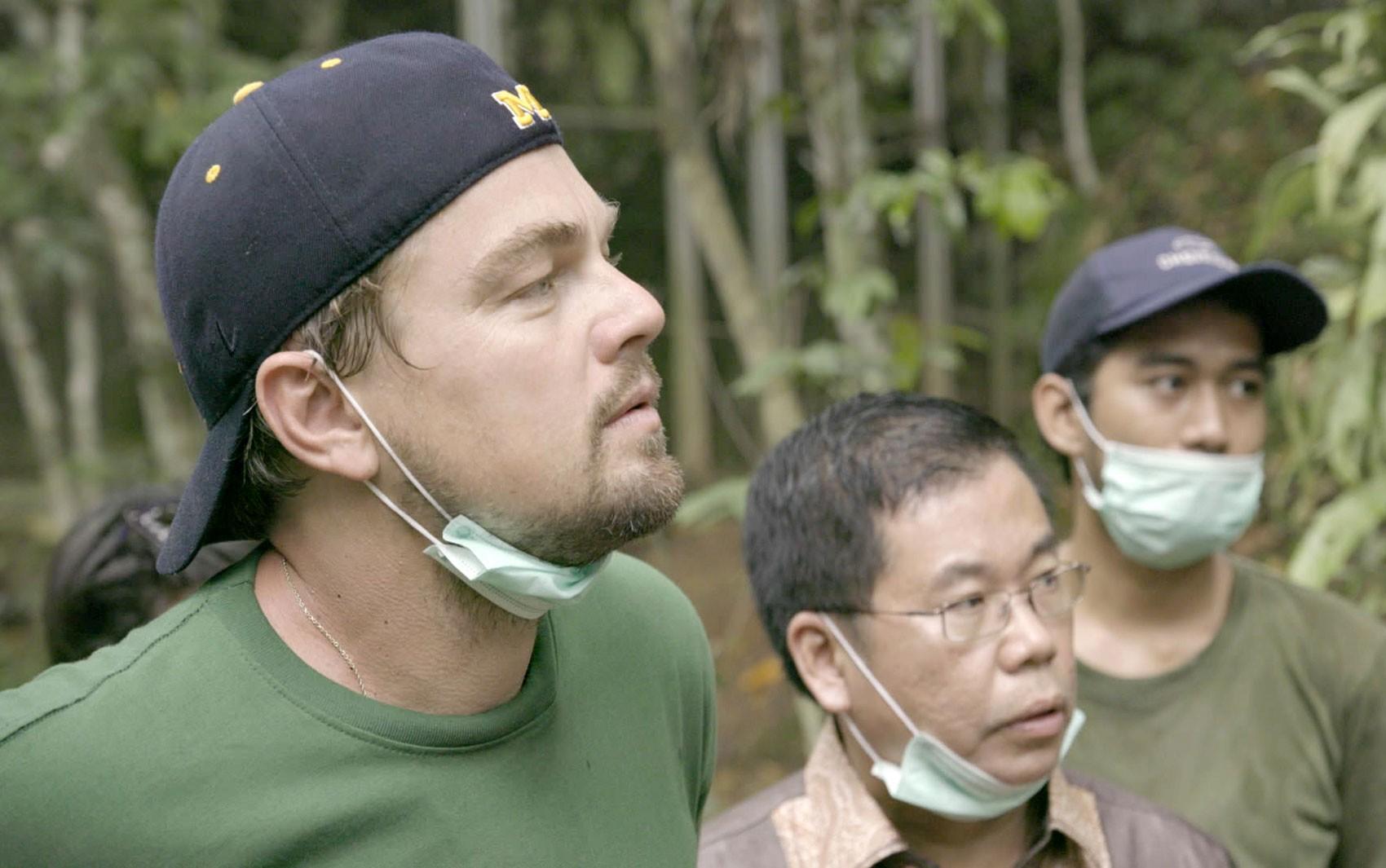 Leonardo DiCaprio em cena de 'Before the flood'