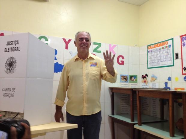 Dr Mauro Nazif é eleito prefeito de Porto Velho (Foto: Vanessa Vasconcelos/G1)