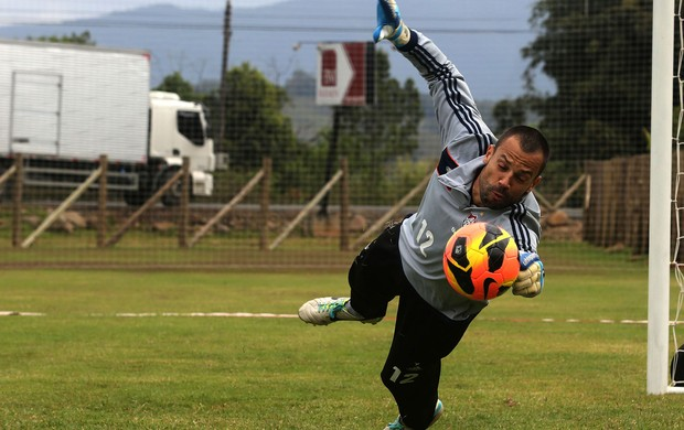 Diego Cavaliere treino (Foto: NELSON PEREZ/FLUMINENSE F.C.)