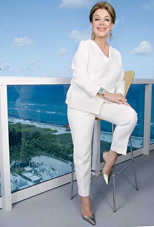 virginia em Miami, onde vive desde 2006 (Foto: Dora Franco)