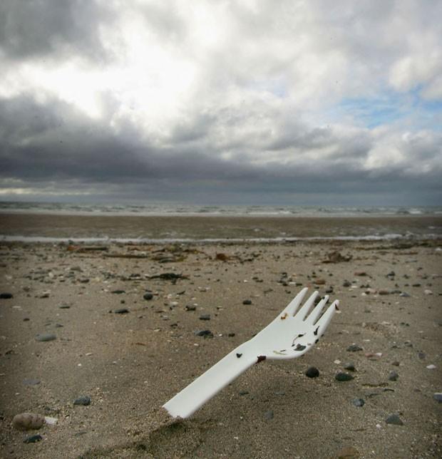 Garfos de plásticos apenas biodegradáveis (Foto: Getty Images)