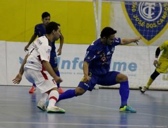São José Futsal Joinville (Foto: Quarttus Marketing/ Divulgação)