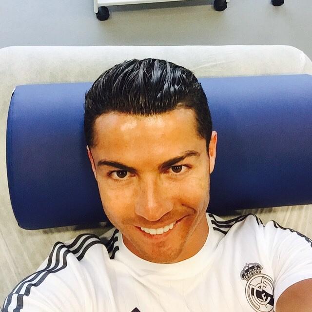Cristiano Ronaldo close