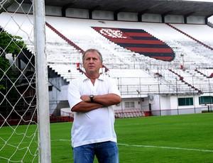 Zico no Flamengo (Foto: Alexandre Vidal / Fla Imagem)