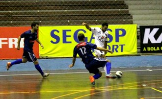 AABB x Bauru Futsal, oitavas. LPF, Liga Paulista (Foto: Jornada Esportiva / Rádio Auriverde AM)