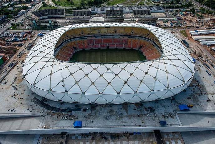 Arena da Amazônia  (Foto: Alex Pazuello/Agecom)