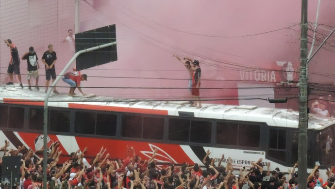Joinville x Figueirense torcida TR (Foto: Diego Madruga)