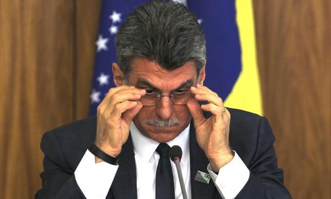 Romero Jucá, ex-ministro do Planejamento.