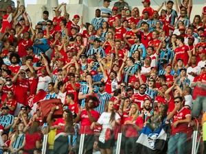 gre-nal torcida mista (Foto: Alexandre Lops/Divulgação Inter)