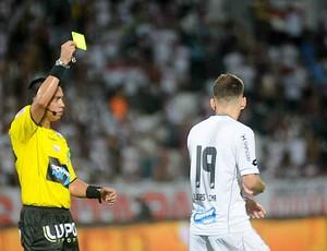 Gilberto Castro Júnior árbitro (Foto: Aldo Carneiro / Pernambuco Press)