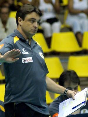 Rubinho, técnico do São Bernardo vôlei masculino (Foto: Divulgação)