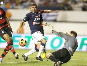 Wallace jogo Remo Flamengo (Foto: Ag. Estado)