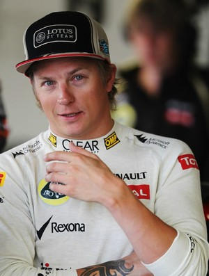 Kimi Raikkonen - Lotus -  GP da Inglaterra de 2012 (Foto: Getty Images)