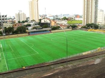 estádio Baetão jogo Copinha (Foto: Editoria de Arte)