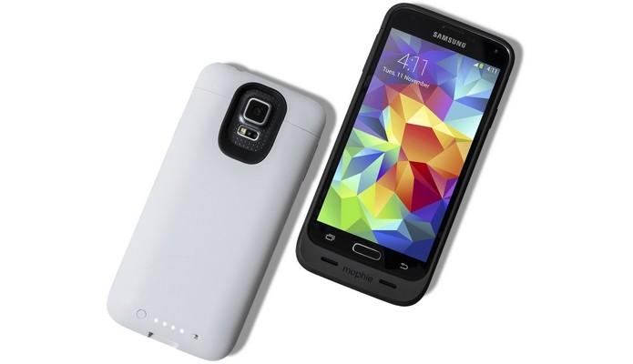 Juice Pack para Galaxy S5 (Foto: Reprodução/Mophie)