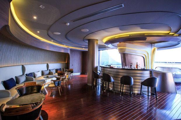 Bar ao ar livre mais alto do mundo é inaugurado em Bangkok  (Foto: Divulgação)