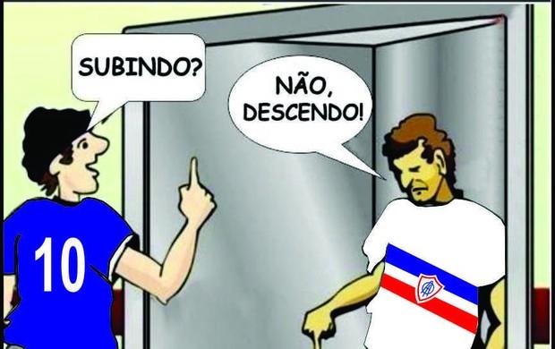 Crise do Itabaiana (Foto: Reprodução/Facebook)