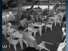 Vídeo mostra tentativa de assalto que matou policial Oscar Charife, em GO