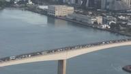 Terceira Ponte é totalmente interditada no início da manhã e trânsito fica congestionado