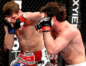 UFC chicago chael sonnen e michael bisping (Foto: Agência Getty Images)