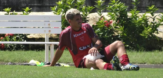 Olívio CRB (Foto: Leonardo Freire/GloboEsporte.com)