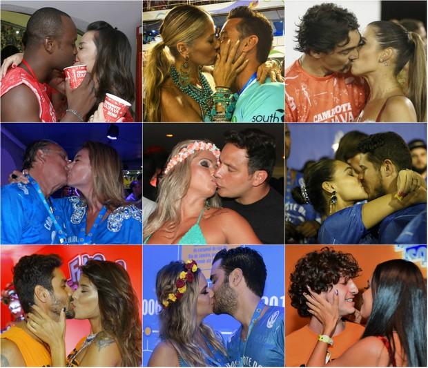 Qual o melhor beijo do último dia do carnaval 2016.  Vote (Foto: EGO/ Ag. News/ Brazil News/Divulgação)