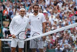 Federer Cilic Wimbledon (Foto: Andrew Couldridge/Reuters)