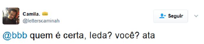 tweet ieda (Foto: Reprodução)