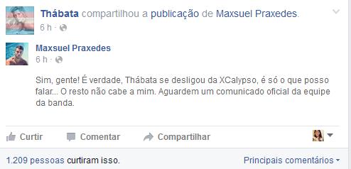 Thabata Mendes (Foto: Reprodução/Facebook)