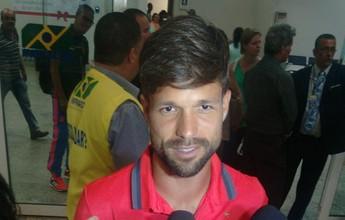 """No ES, Diego elogia força da torcida do Flamengo: """"É um diferencial para nós"""""""