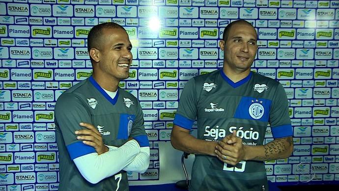 Ronny e Tito no Confiança (Foto: Reprodução/TV Sergipe)