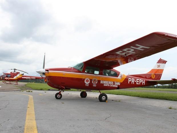 Aeronave auxiliará nas operações do Corpo de Bombeiros (Foto: Corpo de Bombeiros/Divulgação)