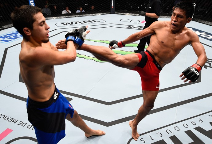 Enrique Barzola Chris Avila UFC México 3 (Foto: Getty Images)