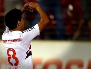 Paulo Henrique Ganso comemora gol do São Paulo contra o Ituano (Foto: JF Diorio / Agência Estado)