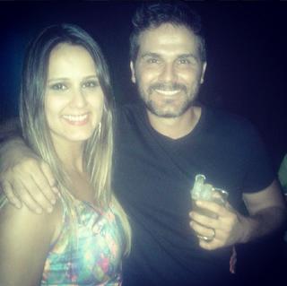 Daniel Gevaerd ao lado da irmã, Daniela (Foto: Reprodução/Instagram)