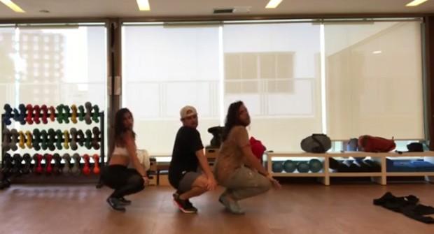 Cleo Pires dança música de J. Balvin (Foto: Reprodução / Instagram)