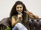 Amanda Amado vira repórter e mostra bastidores dos ensaios para as Batalhas