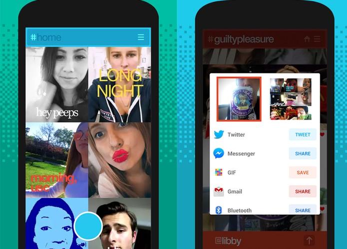 App Kong permite gravar selfies em formato GIF (Foto: Divulgação/Kong)