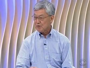 Superintendente da Região Metropolitana de Florianópolis falou sobre o Plamus (Foto: Reprodução/RBS TV)
