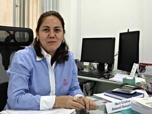 Promotora Meri Cristina quer responsabilizar autores de maus-tratos (Foto: Denis Henrique/G1)